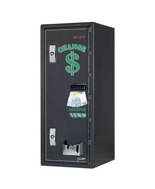 Changeur de monnaie charge de face haute sécurité AC1002