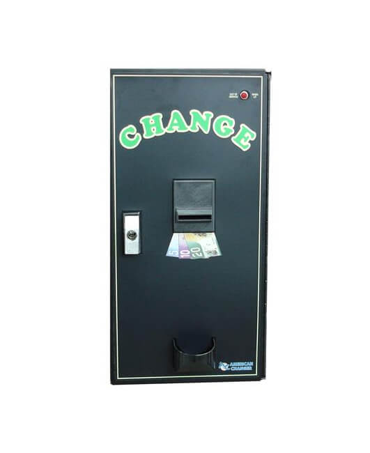 Changeur de monnaie charge de face AC 2001